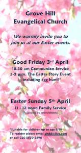 Easter Flyer 2015 Front